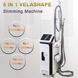 Cavitation rf vaCuum laser maChine online shopping - Velashape Vacuum Butt Lifting Machine Ultrasound Cavitation RF Velashape Body Contouring Laser machines Vaccum Therapie Vela Shap