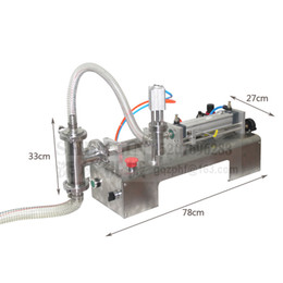 Oil Equipment Australia - SHENLIN Liquid filling machine 10-100ml 110V 220V water bottling machine piston filler food safe filling equipment cream and oil