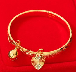 $enCountryForm.capitalKeyWord Australia - Hot sale new children fashion jewelry 18K gold plated copper baby bracelet birthday festival gift