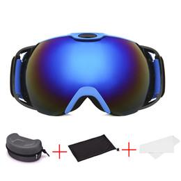 $enCountryForm.capitalKeyWord Australia - 2019 Ski Mask Goggles Sport Men Snowmobile Goggles Double Lens Windproof Male Glasses for Winter UV400 Anti-fog Skiing Eyewear