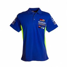 $enCountryForm.capitalKeyWord Australia - 2018 Moto GP Cotton Polo T-shirt For Team Ecstar Motorcycle Sport Riding GRX Men's polo T Shirts RR GRX Racing Clothing