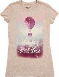 $enCountryForm.capitalKeyWord Australia - Juniors Heather Gray Harajuku Up Adventure Is Out There Balloon House T-Shirt Tee
