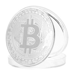 Wholesale Virtuelle BTC-Münze Bitcoin-Münze Cryptocurrency Traders Enthusiast Commemorative Collection Physische Münze Home Room Office Art Decoration