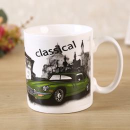 $enCountryForm.capitalKeyWord Australia - Classic Car Coffee Mug Ceramics Cars Water Tea Mug Cartoon Breakfast Mug Best Gift Bread Cookies Mugs