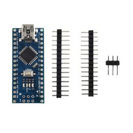 China Newest 1 pcs Nano V3.0 ATmega328P Module Board + Free Mini USB Cable for Arduino Compatible cheap arduino compatible boards suppliers