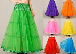 $enCountryForm.capitalKeyWord Australia - Long Skirts Wedding Petticoat Summer Dress A Line Crinoline Underskirt