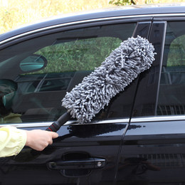 China 2019 Round Car Cleaning Wash Brush Dusting Tool Large Microfiber Telescoping Duster high quality ca-styling cheap telescope high suppliers