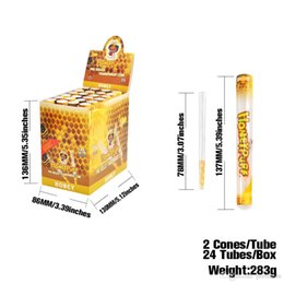 Paper Roll Smoking Australia - wholesale vape smoking rolling paper 78mm 24pc per case with clear tube package vanilla mint honey cheery flavor rolling paper stock!