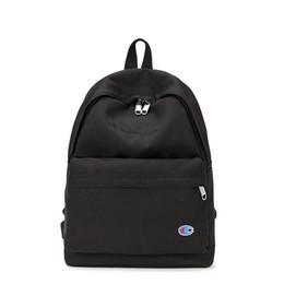 $enCountryForm.capitalKeyWord Australia - 2019 Brand Fashion Luxury Designer Backpacks Champion Letter Shoulder Bag Men Large Capacity Schoolbags Students Travel Storage Bag C7402