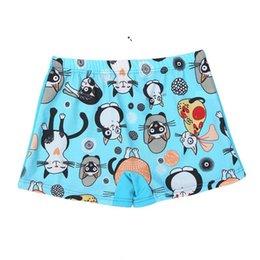 $enCountryForm.capitalKeyWord Australia - Hot Cozy Baby Boy Swimming Trunks Print Cartoon Bathing Suit Children Swim Shorts Kids toddler Beach Swimwear pool shorts