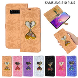 Book shadows online shopping - Luxury Shadow liquid Magnetic Stand PU Leather Case for Samsung Galaxy S10 S9 Plus S10e Note Card slot book Filp leather cover