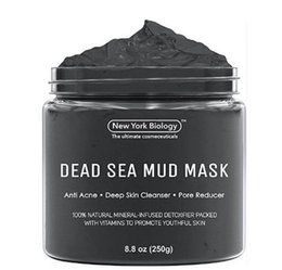 Acne Pack Australia - AUTHENTIC DEAD SEA MUD MASK ANTI ACNE DEEP SKIN CLEANSER PORE REDUCER NATURAL MINERAL-INFUSED DETOXIFIER PACKED WITH VITANINS