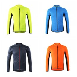 Mountain Men clothing online shopping - Ventilation Quick Drying Cycling Wear Spring And Summer Bicycle Clothes Man Long Sleeves Mountain Bike Jacket New Style arH1