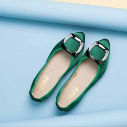 Brown Ballerina Flats NZ - Women Flats Summer Women Genuine Leather Shoes With Low Heels Slip On Casual Flat Shoes Loafers Soft Nurse Ballerina