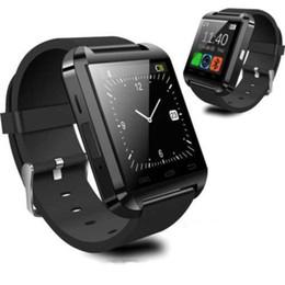 $enCountryForm.capitalKeyWord Australia - New Smartwatch Bluetooth Smart Watch U8 For iPhone IOS Android Smart Phone Wear Clock Wearable Device Smartwatch PK GT08 DZ09