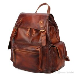 $enCountryForm.capitalKeyWord Australia - Europe and the United States England College Backpack Genuine Leather Pumping Student Schoolbag Backpack Women Student Leisure Fashion