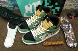 $enCountryForm.capitalKeyWord Australia - 2019 New Arrive High Quality SB Dunk High Dog Walker Basketball Shoes For Mens Black Green Trainers Designer Brand Sport Sneakers SIZE 40-46