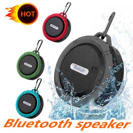 $enCountryForm.capitalKeyWord Australia - Mini C6 IPX7 Outdoor Sports Shower Waterproof Wireless Bluetooth Speaker Suction Cup Handsfree MIC Voice Box For iPhone6 Plus HTC Samsung