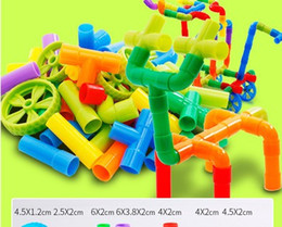 Play Block Set Australia - suzakoo Marble Runs Building blocks one set intelligent game for children playing