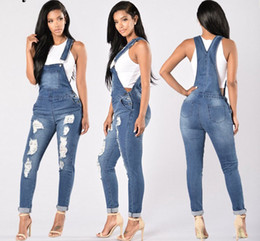 $enCountryForm.capitalKeyWord Australia - New hot style ripped jeans women's high quality pants denim designer dark solid straight jeans free delivery for women's pants