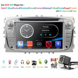Ford Maps Australia - 800*480 HD Touch Screen Car DVD Player For FORD Mondeo S-MAX Connect FOCUS 2 2008-2011 DAB+ Bluetooth GPS USB map cam