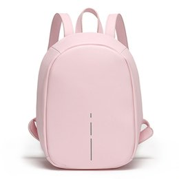 Hard Back Pack Australia - wholesale small trendy anti theft back school pack bag women fashion classic daily faux pu leather ladies backpack