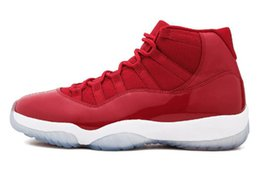 Shoe Xi Us13 UK - Concord High 45 11 XI 11s Cap and Gown Outdoor Shoes PRM Heiress Gym Red Chicago Platinum Tint Space Jams Men Outdoor Shoes