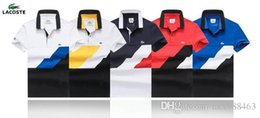 Wholesale 2019 männer poloshirt stil sommer mode männer revers polo shirts baumwolle slim fit polos top casual camisas masculinas plus größe 451