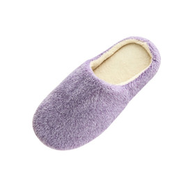 a937b505cd6 Women s Slippers Women Warm Home Plush Soft Slippers Indoors Anti-slip  Winter Floor Bedroom Shoes Outdoor Casual Shoes