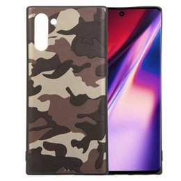 $enCountryForm.capitalKeyWord Australia - Camouflage Soft TPU Case For Samsung Galaxy Note 10 Pro Huawei P20 lite 2019 Nova 5 Military Silicone Green Fashion Luxury Cell Phone Cover