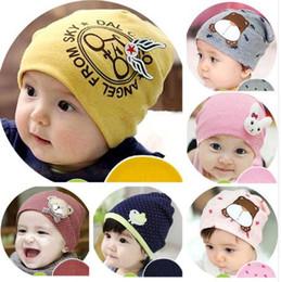 Baby Boy Skull Crochet Beanies Australia - Baby Hat Newborn Baby Cap Warm Crochet Beanie For Winter Toddler Boy Girl Kids Hat Winter Newborn Photography Props Accessories