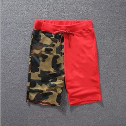 Knee Skateboard Australia - Summer Casual Shorts For Mens Designer Pants Skateboard Crocodile Printed Knee Length Closure Drawstring Mid Waist Shorts Clothing