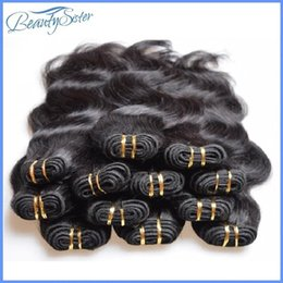$enCountryForm.capitalKeyWord Canada - Clearance Brazilian Human Hair Bundle Body Wave 5kg 100pcs lot Cheapest Brazilian Hair Styling Human Hair Weaving Black Color Cabelos Humano
