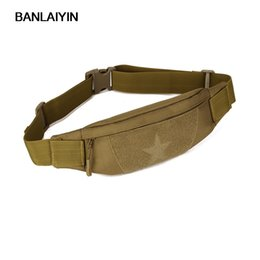 military cell phones Australia - Nice New Unisex Waterproof Nylon Travel Military Anti-theft Slim Cell Phone Belt Fanny Pack Waist Bag
