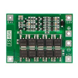 lithium module NZ - Consumer Electronics 3S 40A 18650 Li-Ion Lithium Battery Charger Protection Board Pcb Bms For Drill Motor 11.1V 12.6V Lipo Cell Module