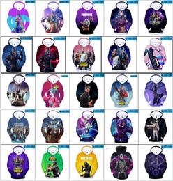 3D Fortnite толстовки 47 стили Fortnite пуловер Толстовки кофты XXS-4XL дети 120/130 см сезон 6 Fortnite Мужские толстовки косплей одежда