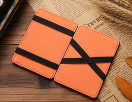 candy wallets wholesale Canada - New New Fashion Small Men's Magic Wallet Coin Pocket ID Card Case Money Clip Bank Credit Card Purse Cash Holder For Women