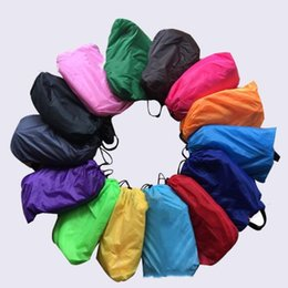 Wholesale Inflatable Bed Hammock Lounge Sofa Portable Sleep Bag Lazy Chair Bean Bag Lazy Cushion Boat Outdoor Camping Beach Sleeping Bags Laybag B5751