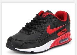 Baby Kids Run Sapatos Running Shoes Boost Crianças Athletic Shoes Meninos Meninas Beluga 2.0 Sneakers Preto Vermelho 01 em Promoção