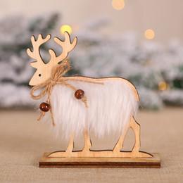 $enCountryForm.capitalKeyWord Australia - 2020 New Santa Claus Elk Wooden Crafts Xmas Desk Top Ornament DIY Merry Christmas Wooden Ornaments Kids Gifts Home Decor