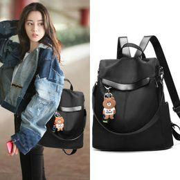 $enCountryForm.capitalKeyWord Australia - New 2019 student backpacks and backpacks han edition Oxford cloth casual travel bag with large capacity