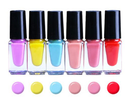 evening nails Australia - 5ml-24Colors Plant water-based peelable nail polish,even color,dazzling nail polish set nails art art color