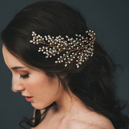 $enCountryForm.capitalKeyWord UK - Luxury Flower Headpiece Wedding Hair Accessories Special Occasion Headbands Bridal Hair Jewelry Tiara Bridal Crown Headband