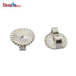 $enCountryForm.capitalKeyWord UK - wholesale ID37587 Sterling Silver Jewelry Finding Wholesale Jumbo Ear Nut Earring Back Premium Swirl
