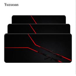 $enCountryForm.capitalKeyWord Australia - Yuzuoan Free Shipping Large size 30x60 70  80 90 cm Counter Strike Game Rubber CSGO Edge mouse pad nonslip Mats Mats Big Laptop