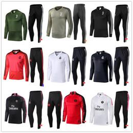 01d08dd6e new 2018 Real Madrid Juventus Paris Training suit 2018 2019 Psg soccer  Tracksuit Sets jacket MBAPPE VERRATT CAVANI POGBA Football kit