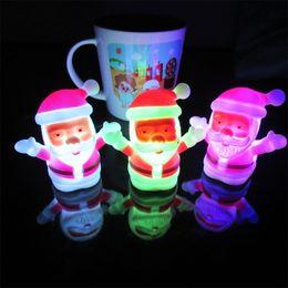 $enCountryForm.capitalKeyWord Australia - JUEJA Christmas Lamp Light Xmas Gift Mini Table Cute Santa Claus LED Decor Nightlight