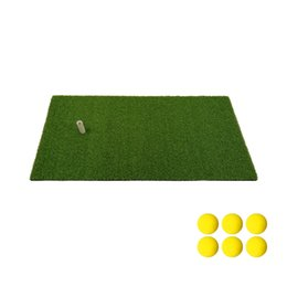 Discount golf swing mats - Golf Mat Residential Practice Hitting Mat 12''x24'' Golf Swing with Rubber Tee Realistic Synthetic T