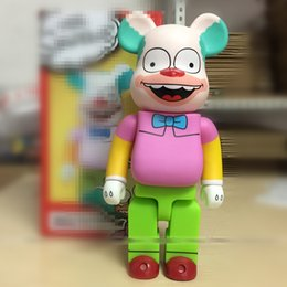 Wholesale 11 Inches Bearbrick Be rbrick Simpsons COS clown PVC Action Figure Collectible Model Toy