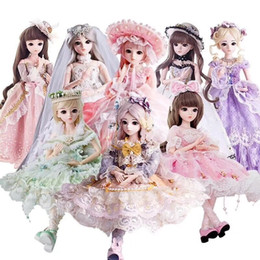 $enCountryForm.capitalKeyWord Australia - 1 3 brown eyes with BJD clothes wig shoes makeup 100% handmade beauty toys silicone rebirth doll toys